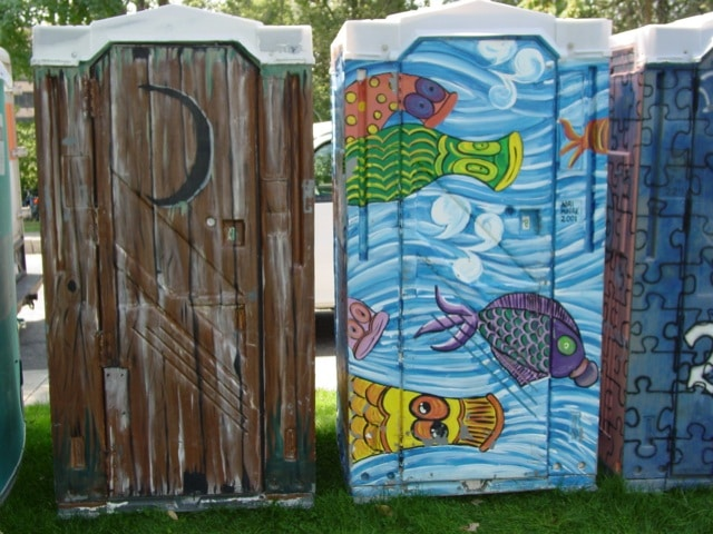 richmond designer porta potties