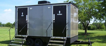 vip portable restroom trailers in Richmond VA